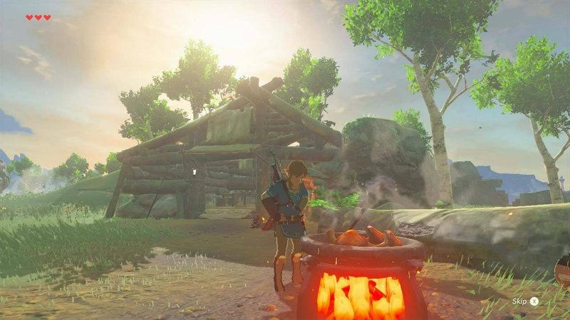 Legend of Zelda Breath of the Wild Cooking