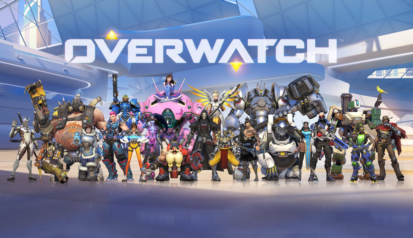 Overwatch cast image