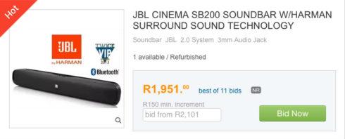 BoB 5 soundbar