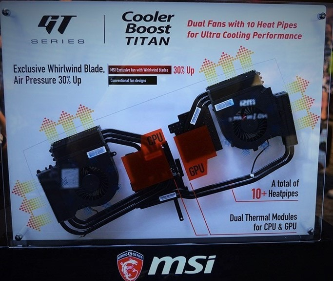 MSI shattering desktop performance with revised Cooler Boost
