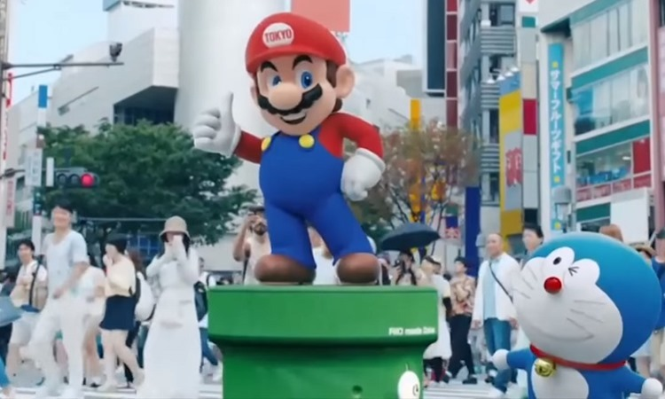 Mario and other cultural stars feature in the Rio Olympics closing ceremony