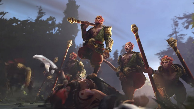 Valve's new Monkey King hero for Dota 2 is incredibly