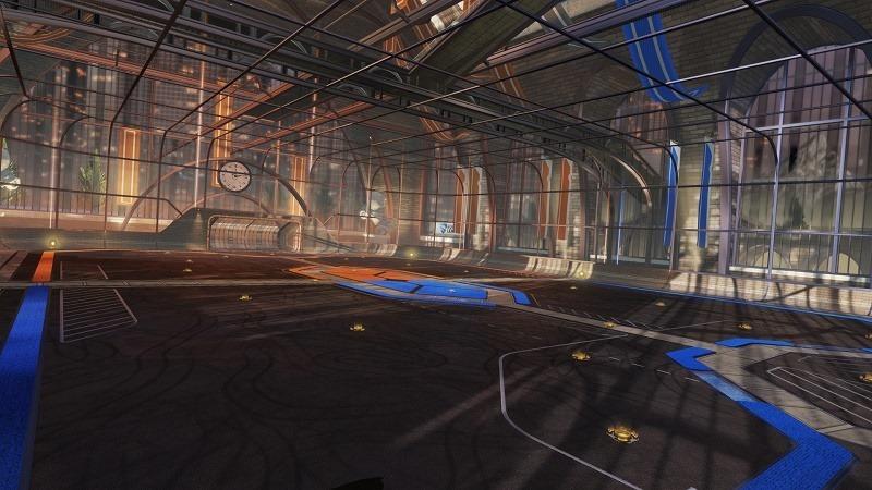 Rocket League updated map
