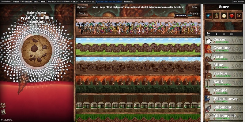 The Cookie Clicker Diaries: Day 231 - baking the bank