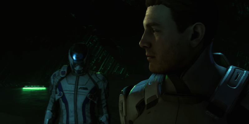 Mass Effect Andromeda male protag 2