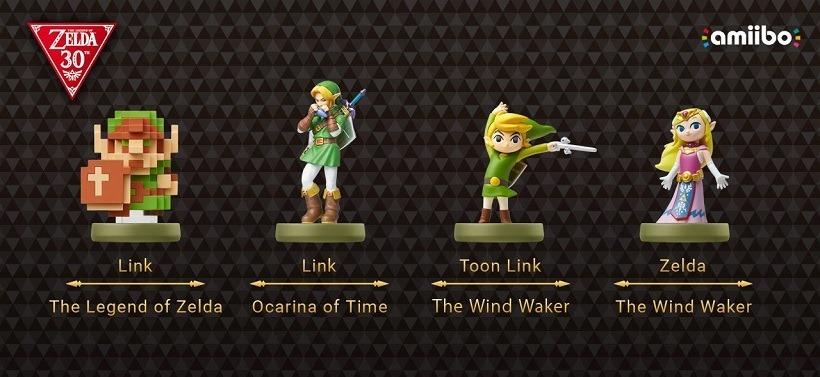 Nintendo Direct The Legend of Zelda Amiibo