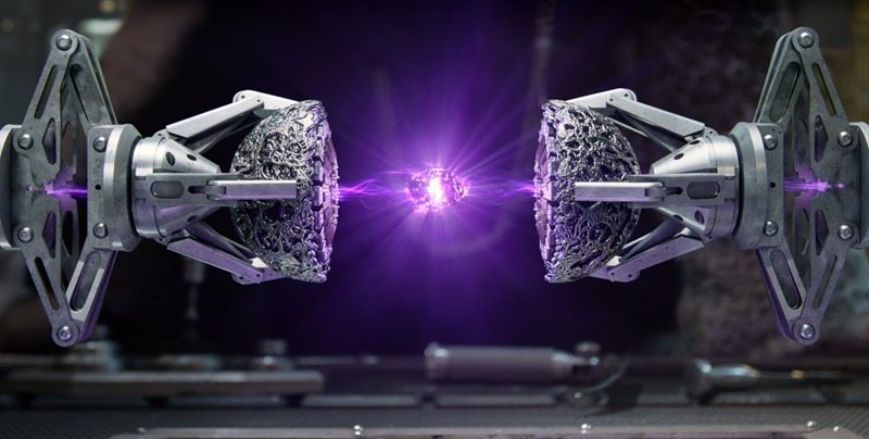 "Marvel's Guardians Of The Galaxy The purple ""Power"" Infinity Stone revealed in the Collector's Lab Ph: Film Frame ©Marvel 2014"