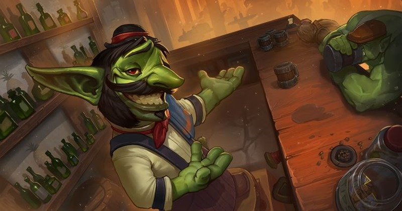 Hearthstone Expansion feature header