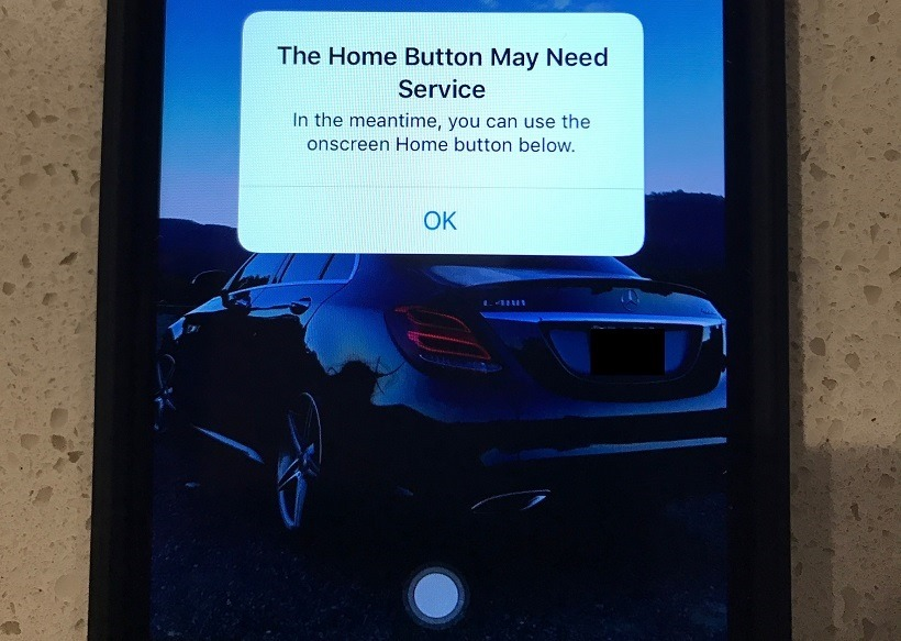 iPHone 7 home button workaround