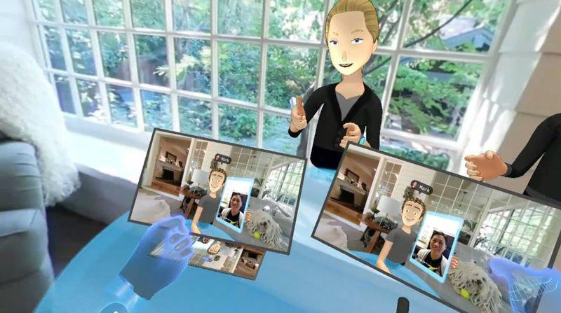 Oculus vr chat