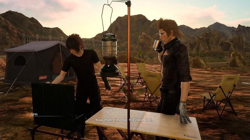 Final Fantasy XV camp