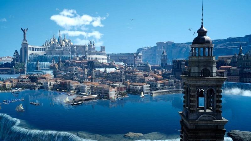 Final Fantasy XV scenery