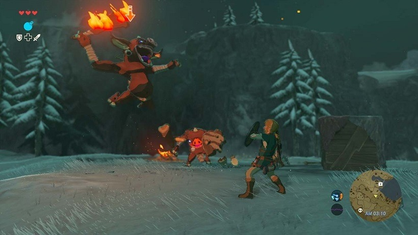 Breath of the Wild footage on Nintendo Switch 2