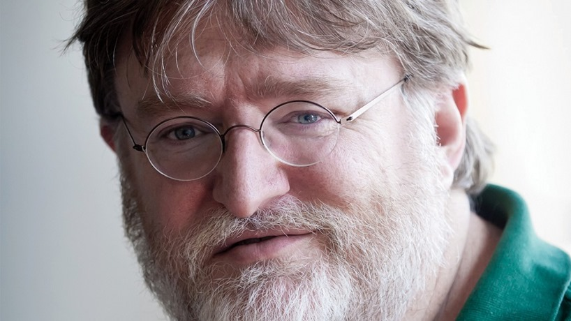 Gbae Newell speaks on the future of single player games at Valve