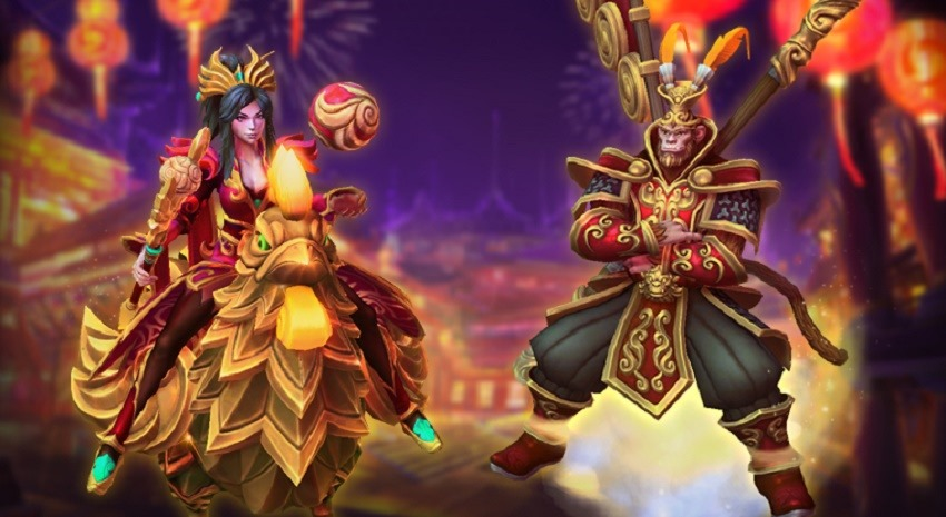 Lunar festival Heroes of the Storm