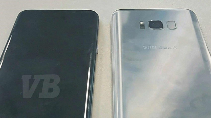 Samsung's Galaxy S8 pictured 2