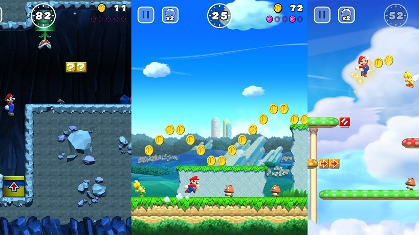 Super Mario Run Black Coins are the real challenge 1