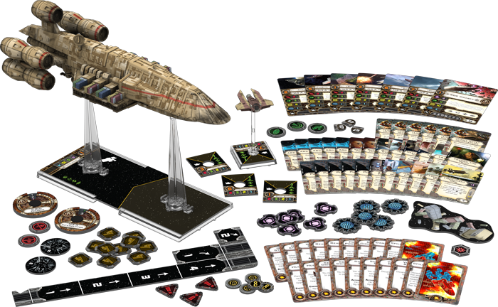 C-ROC Cruiser Expansion Pack for X-Wing