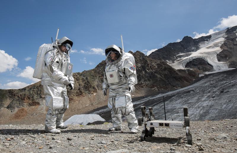 Astronauts Inigo Carmen Puli rover OeWF ClaudiaStix