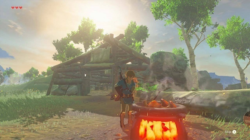 Breath of the Wild's world fights back in new footage 2