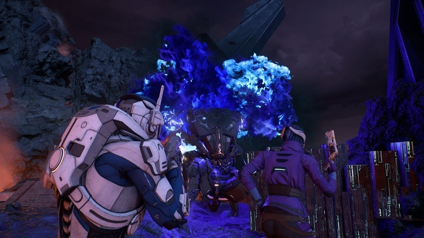 Mass Effect Andromeda combat trailer 2