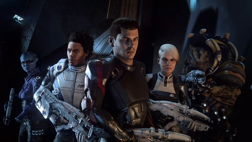 Mass Effect Andromeda is like softcore space porn