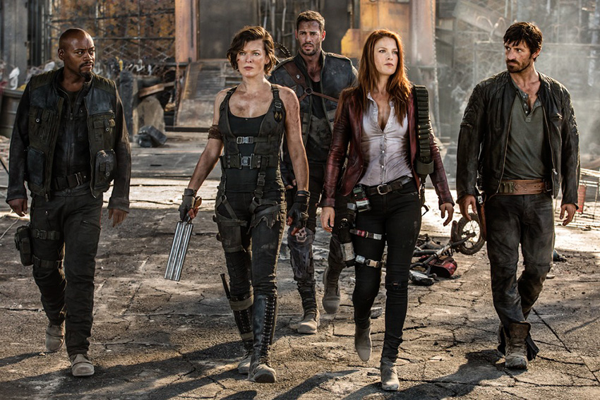 RESIDENT EVIL: THE FINAL CHAPTER.