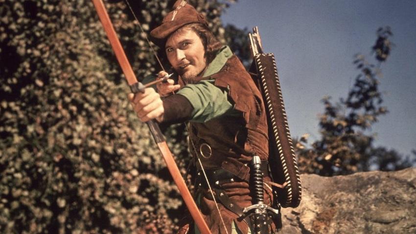 Errol Flynn in 1938's The Adventures of Robin Hood