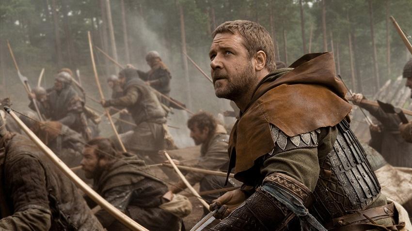 Russell Crowe in 2010's Robin Hood