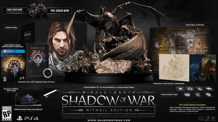 Shadow of War CE