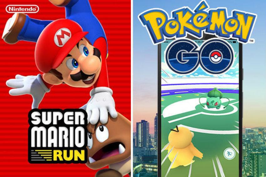 Pokemon go mario run