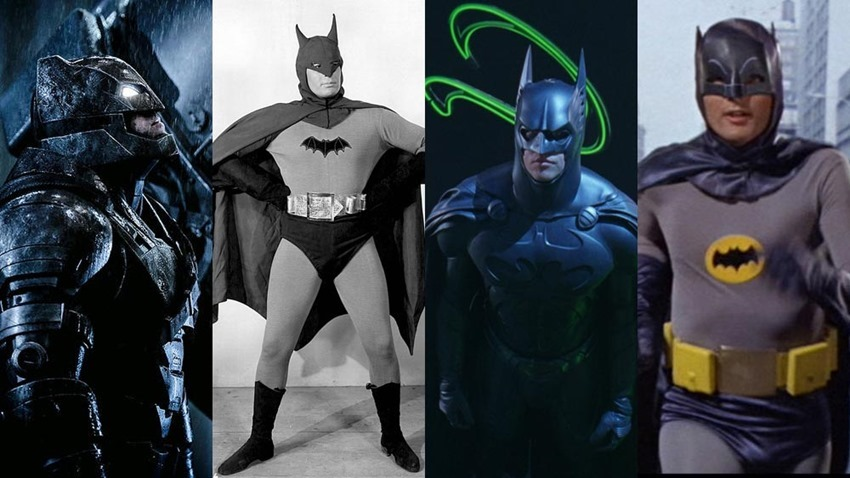 Evolution of the Live-Action Batman Batsuit - Viral Comics