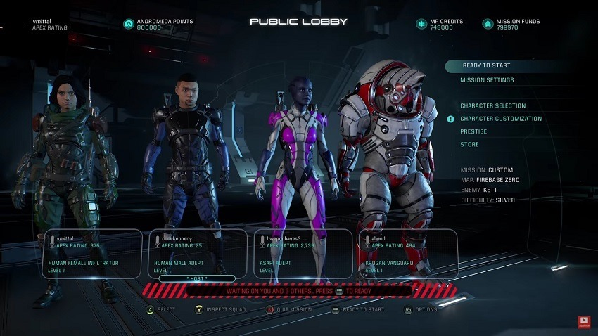 Mass Effect Andromeda details its multiplayer 2