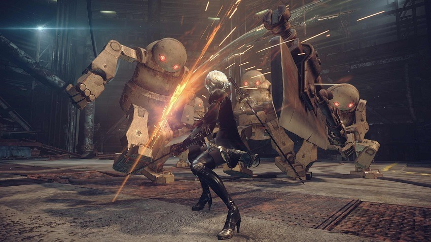 NieR Automata patched by a fan on PC