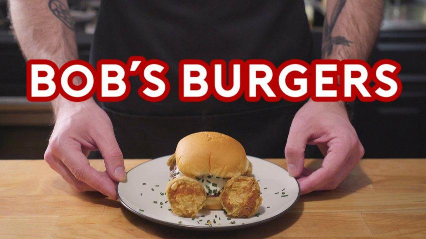 Binging with babish burgers