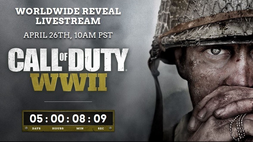Call of Duty WWII revealed