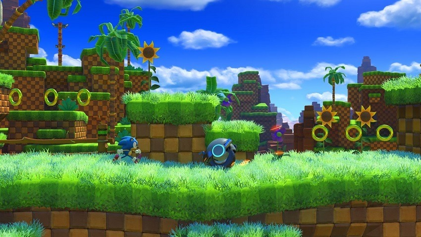 Classic Sonic in Sonic Forces looks dull 2