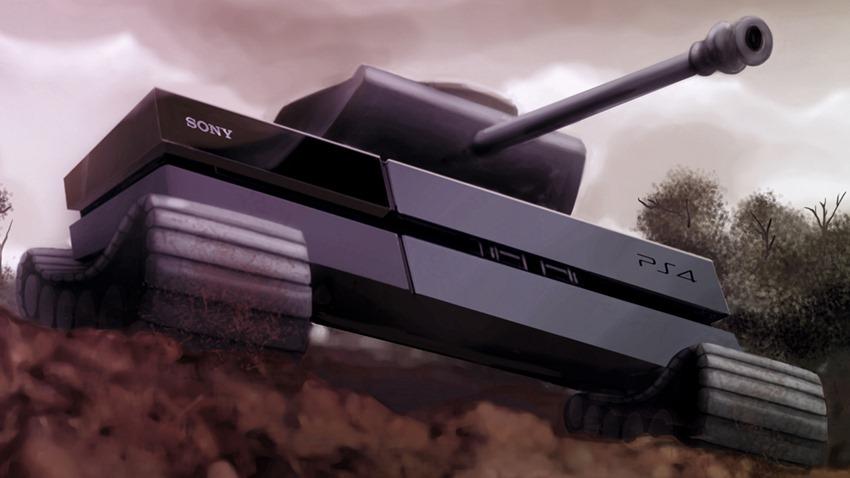 PS 4 Tank