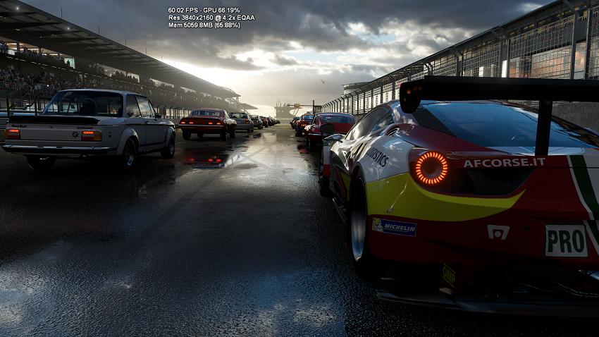 Xbox Scorpio Forza Motorsport demo