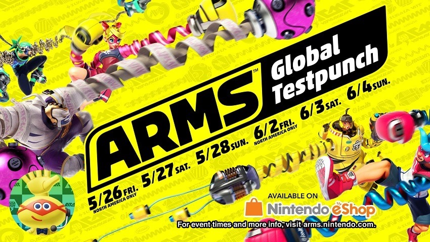 Arms global testpunch revealed