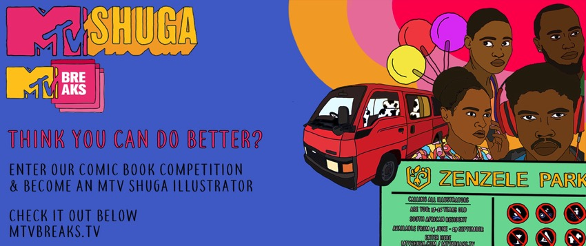 MTV Shuga Comic Book Competition