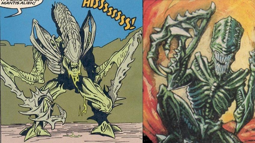 Mantis-Alien