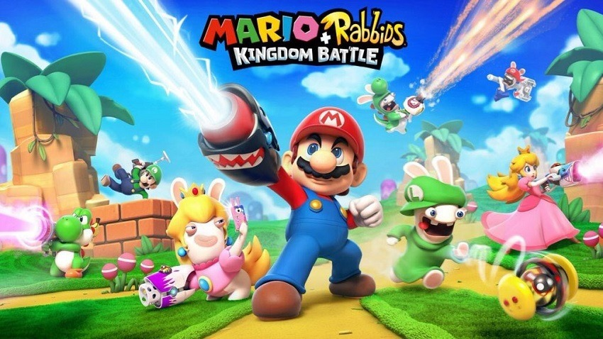Mario   Rabbids is a very real thing that's out soon 3