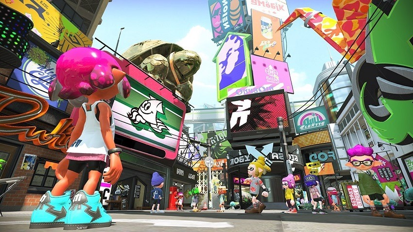 Splatoon 2 is keeping the limited map rotations 2