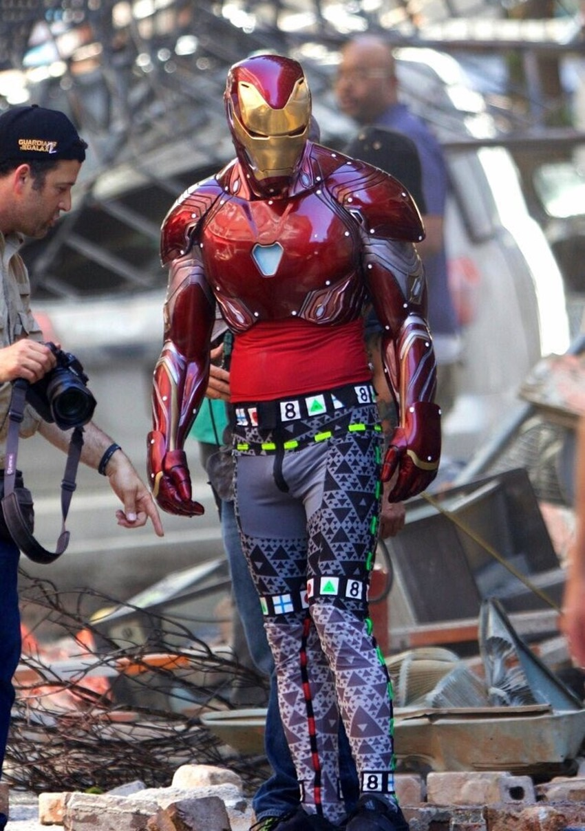 Here's your first look at Iron Man's new Mark 48 armour in