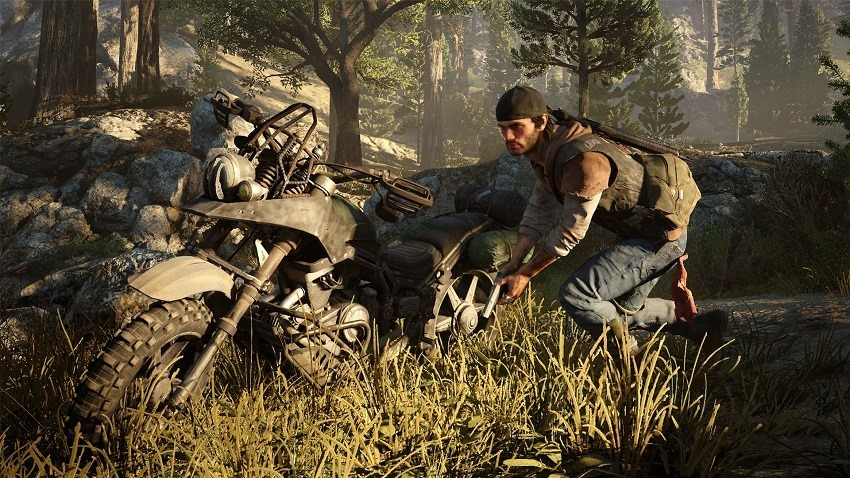 Days Gone alternative path gamplay shows the effects of weather