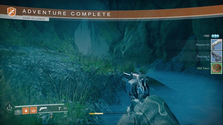 Destiny 2 EDZ Tokens (4)