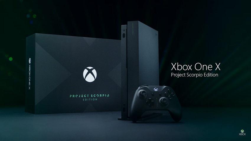 Project Scorpio Xbox One X revealed