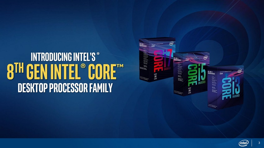 Intel announces Coffee Lake proessor line 2