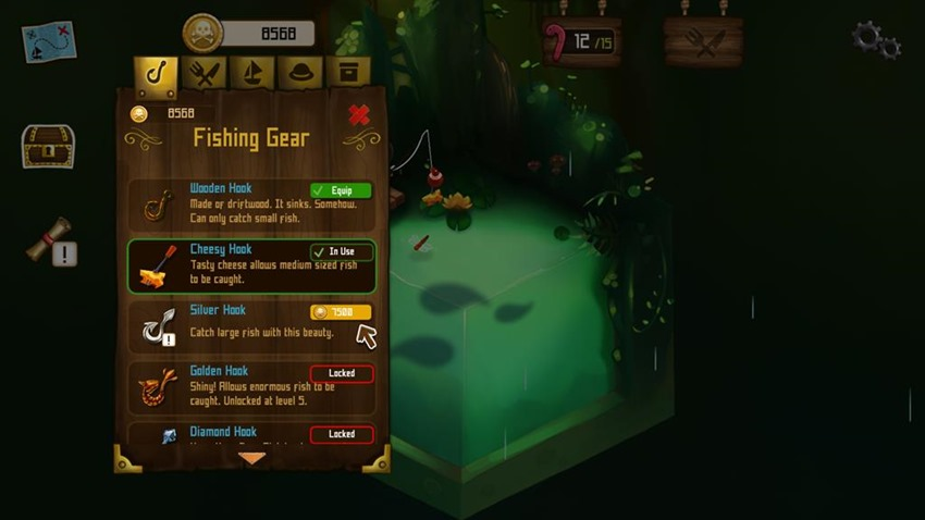 Rule with an iron fish (2)